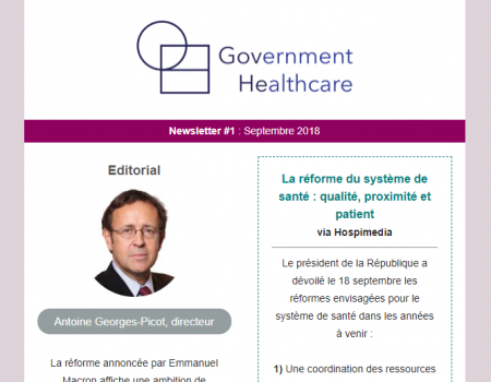 Newsletter #1 : Septembre 2018