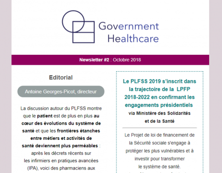 Newsletter #2 : Octobre 2018