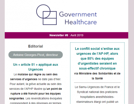 Newsletter #8 : Avril 2019