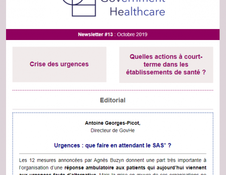 Newsletter #13 : Octobre 2019