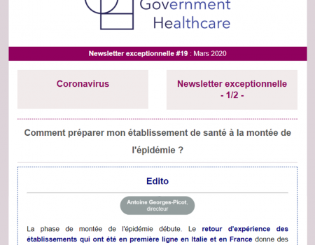 Newsletter Exceptionnelle : Mars 2020